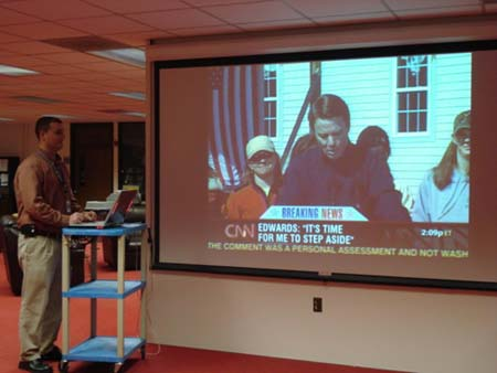 Using TV to enhance curriculum in K-12 schools.
