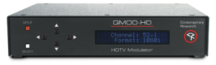 Contemporary Research's QMOD-HD - front