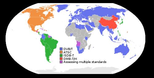 Digital broadcast standards