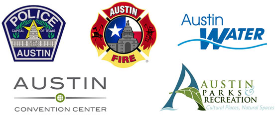 City of Austin Departments using SnapStream