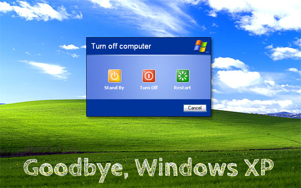 Windows XP End of Support, Goodbye Windows XP