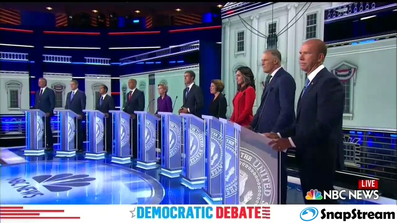 2020 Democratic Candidates Debate - Night No. 1 - 09_02_34 PM