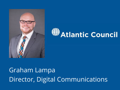 Graham Lampa at the Atlantic Council