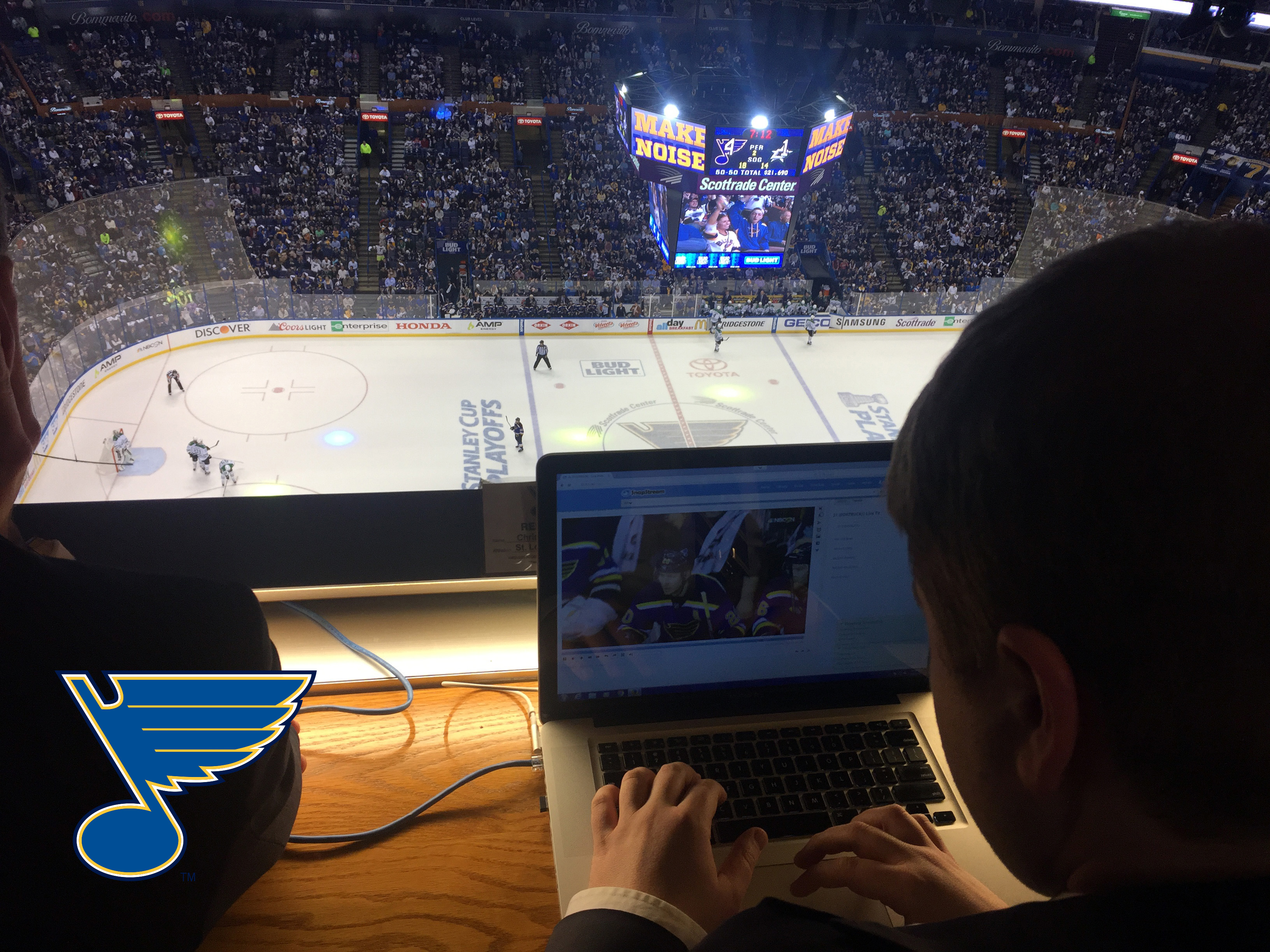 The St. Louis Blues Digital Team Use SnapStream During the NHL 2016 Post-Season